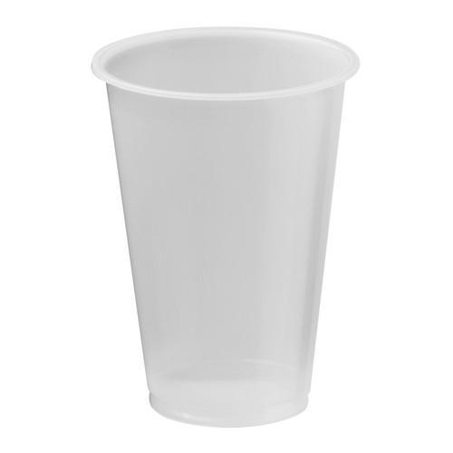 CUP PLASTIC NATURAL 425ML CERTIFIED (PK50)
