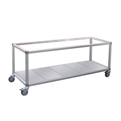 TROLLEY FOR FOOD DISPLAY 24 ROBAND