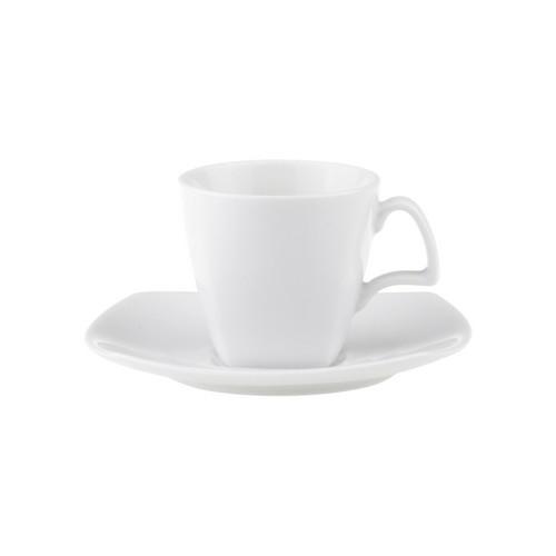 CUP ESPRESSO SQUARE 100ML ROYAL PORCELAIN