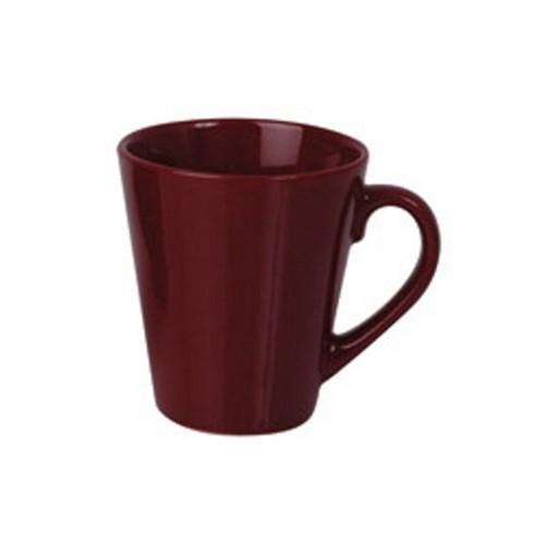 MUG COFFEE TAPERED MAROON 280ML