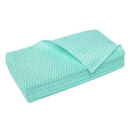 CLOTH WIPER HEAVY DUTY GREEN 600X450MM (PK20)