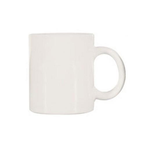 MUG COFFEE CAN SHAPE WHITE 340ML