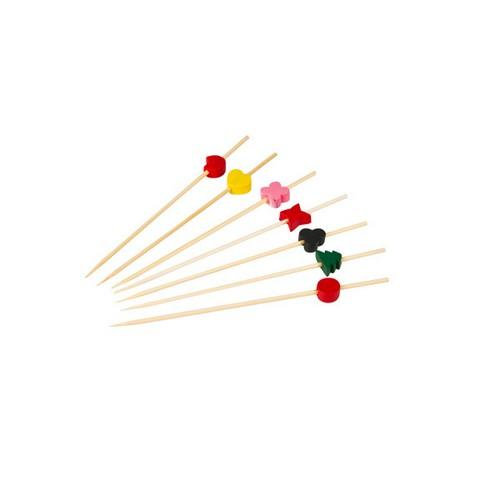 PICK PARTY BAMBOO ASSORTED DESIGNS 120MM (PK100)