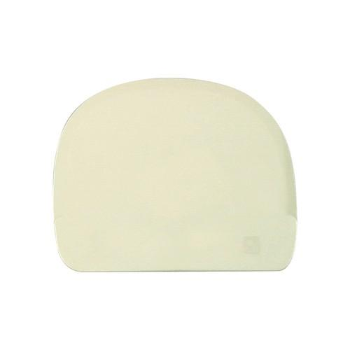 DOUGH SCRAPER ROUNDED PLASTIC 115X95MM THERMO