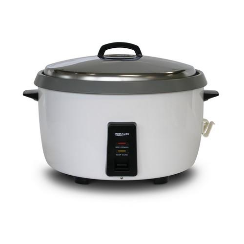 RICE COOKER 10L 55 CUP N/S BOWL WHITE 3450W 15AMP ROBALEC