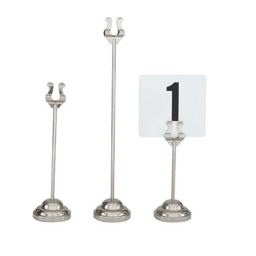 TABLE NUMBER STAND 300MM HARP H/D BASE