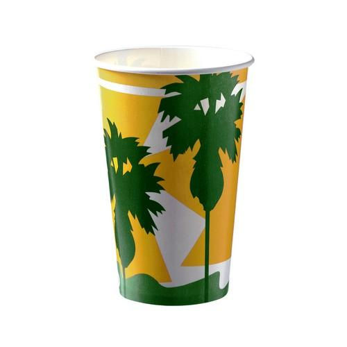 CUP PAPER COLD DRINK / THICKSHAKE DAINTREE 488ML (CT1000)