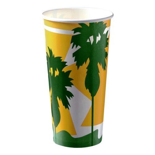 CUP PAPER COLD DRINK / MILKSHAKE DAINTREE 800ML (CT500)