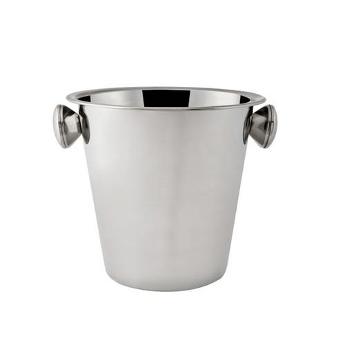 WINE BUCKET S/S W/KNOBS MIRROR 205X200MM