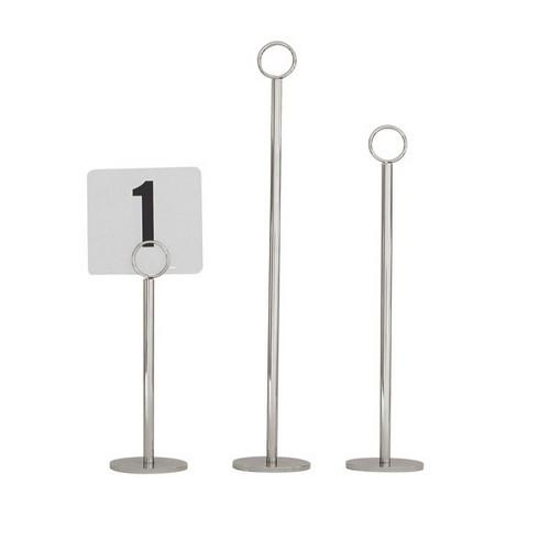 TABLE NUMBER STAND 300MM RING 70MM BASE