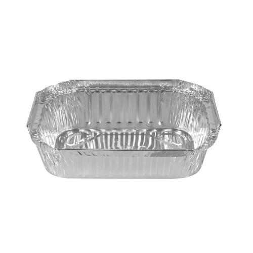 CONTAINER FOIL TAKEAWAY SMALL 500ML 175X192X38MM (CT500)