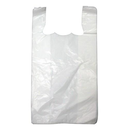 SINGLET BAG PLASTIC WHITE LARGE 550X300X200MM (CT2000)