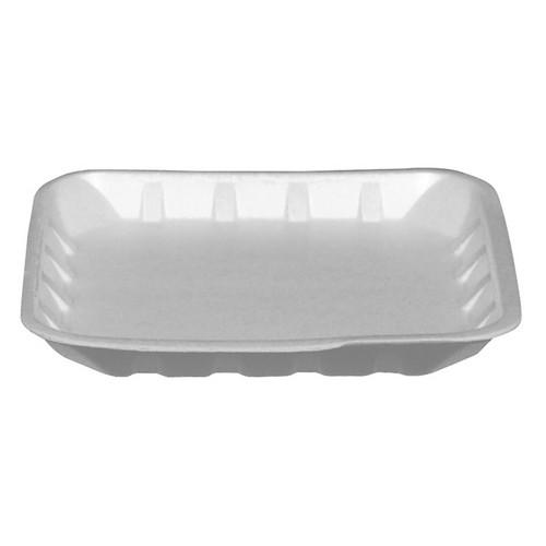 FOOD TRAY SQUARE FOAM WHITE FST 138X138X14MM (CT2000)