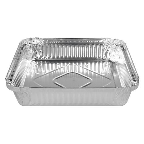CONTAINER FOIL SQUARE CATERING 1.56L 214X214X38MM (CT200)