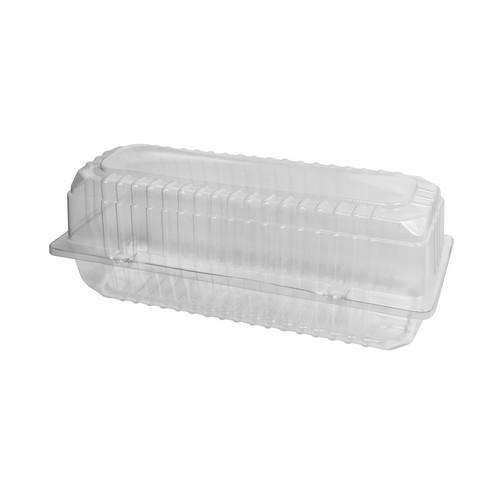 ROLL PACK PLASTIC CLEAR HINGED LARGE 235X95X80MM