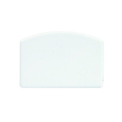 DOUGH SCRAPER PLASTIC WHITE 140X95MM