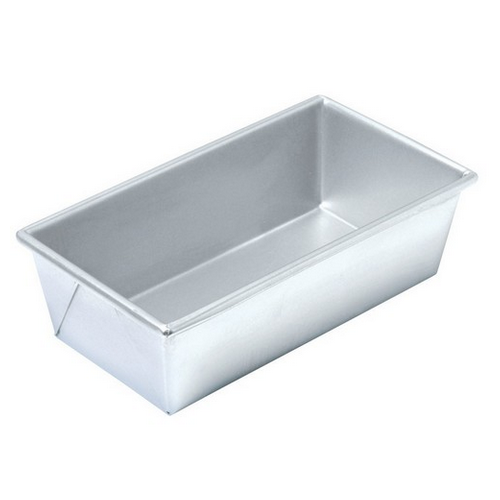 LOAF PAN UNCOATED 230X130X70MM CHICAGO METALLIC