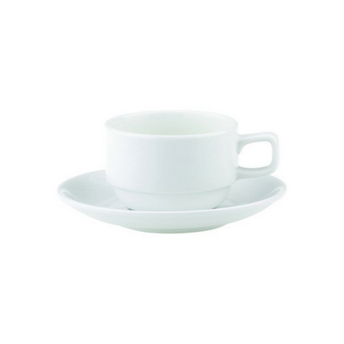 CUP COFFEE STACKABLE LOW 200ML ROYAL PORCELAIN