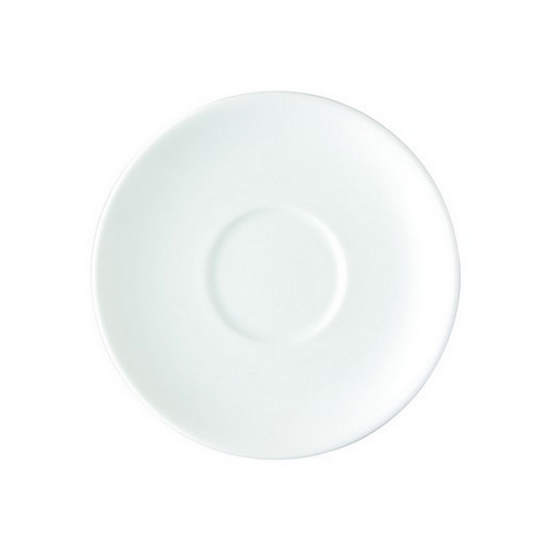 SAUCER FOR COFFEE STK / TAPERED 150MM ROYAL PORCELAIN