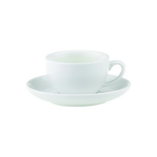 SAUCER FOR ESPRESSO THICK WALL 125MM ROYAL PORCELAIN