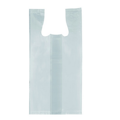 SINGLET BAG PLASTIC WHITE SMALL 420X170X130MM (CT5000)