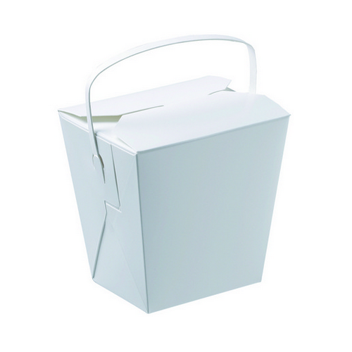 FOOD PAIL 26OZ WITH HANDLE 110X94X104MM (PK25)