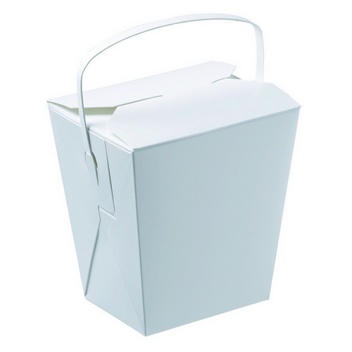FOOD PAIL 32OZ WITH HANDLE 120X95X110MM (PK25)