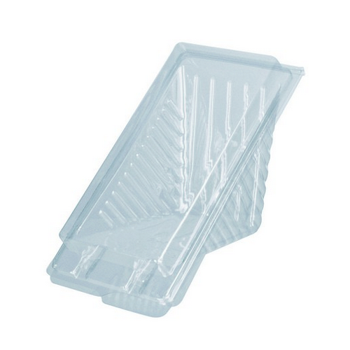 SANDWICH WEDGE PLASTIC CLEAR X- LARGE 200X85X75MM (CT250)