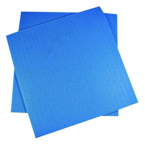 CLOTH SPONGE SQUARE 300X270MM BLUE (PK10)