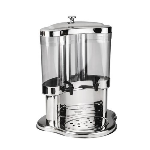 JUICE DISPENSER DOUBLE 2 X 7L S/S ACRYLIC SUNNEX