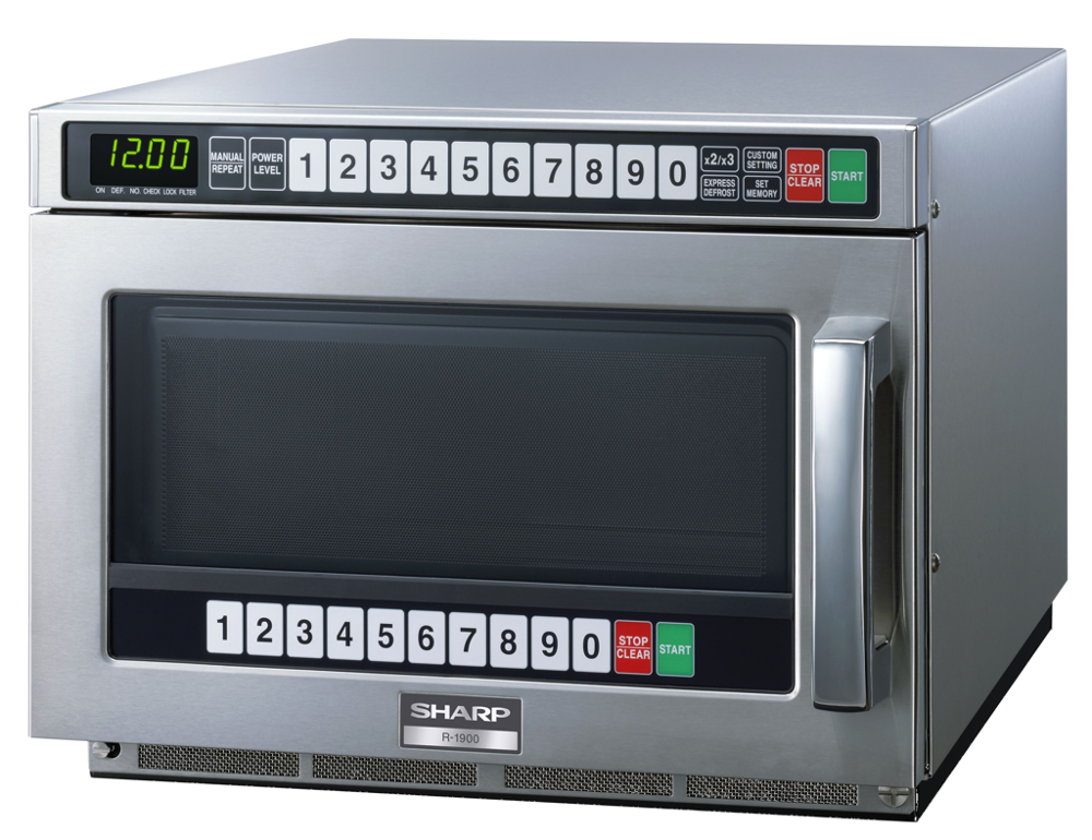 MICROWAVE OVEN 1900W HEAVY DUTY 15AMP SHARP