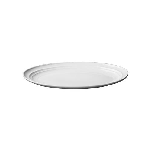 PLATTER OVAL COUPE 280MM AURA RENE OZORIO