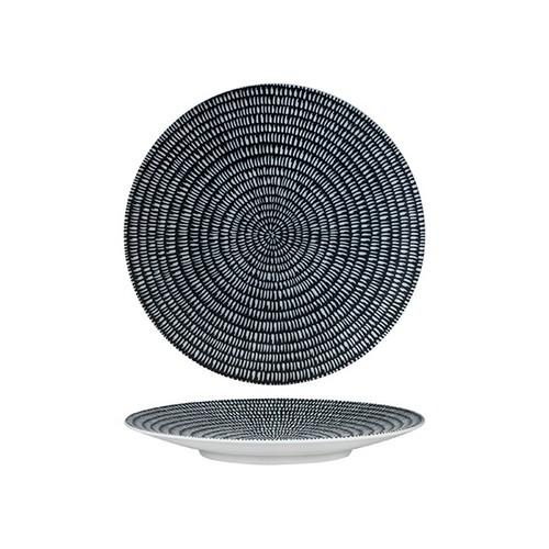 PLATE ROUND COUPE 205MM STORM ZEN LUZERNE