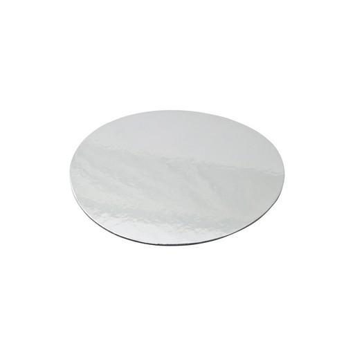 CAKE BOARD ROUND FOIL LINED 200MM (PK50)