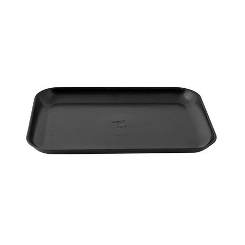 TRAY CHANGE PLASTIC RECT 110X160MM BLACK