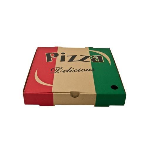 PIZZA BOX BOARD BROWN STOCKPRINT 230MM (PK100)