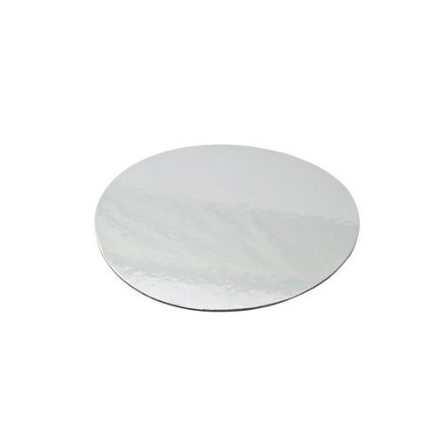 CAKE BOARD ROUND FOIL LINED 300MM (PK50)