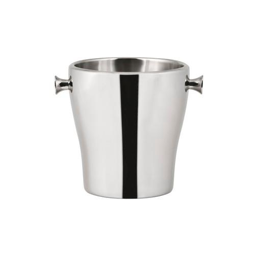 WINE BUCKET S/S W/KNOBS MIRROR DELUXE 190X200MM