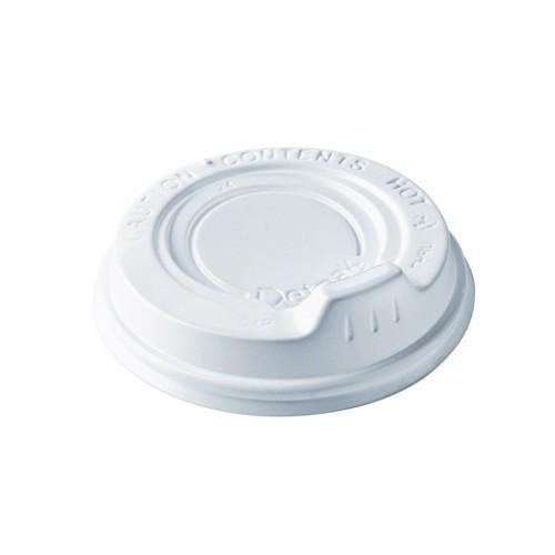 LID PLASTIC SIPPER  WHITE FOR RIPPLEWRAP CUP 360 / 480ML (CT1000)