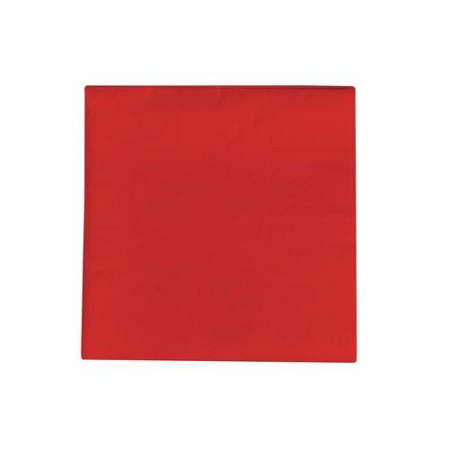NAPKIN COCKTAIL 2PLY RED 240X24MM (2000)