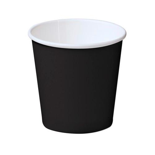 CUP PAPER HOT DRINK DOUBLE WALL BLACK 240ML (CT500)