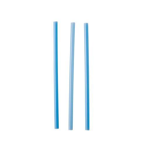 STRAW COCKTAIL PLASTIC BLUE 135MM (CT5000)