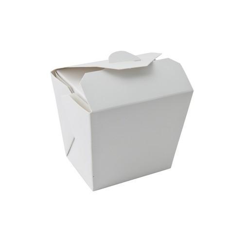FOOD PAIL BOARD WHITE 16OZ / 477ML 76X55X85MM (PK50)
