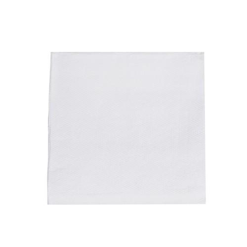 NAPKIN COCKTAIL QUILTED WHITE 240X240MM ULTIMATE (CT2000)