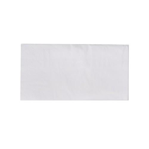 NAPKIN DINNER 2PLY WHITE GT FOLD 400X400MM ULTIMATE (CT1000)