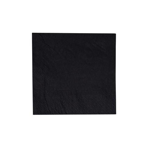 NAPKIN COCKTAIL 2PLY BLACK 240X240MM ULTIMATE (CT2000)