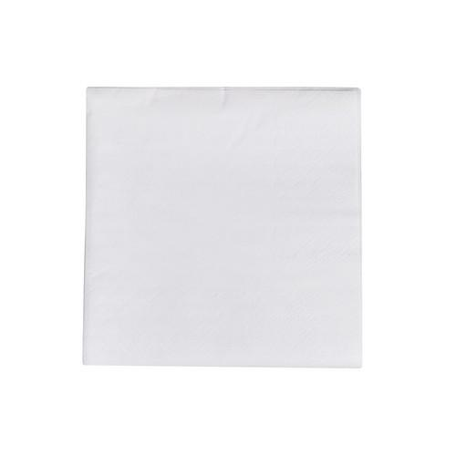 NAPKIN COCKTAIL 2PLY WHITE 240X240MM ULTIMATE (CT2000)