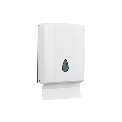 DISPENSER PLASTIC WHITE FOR ULTRASLIM / COMPACT TOWEL