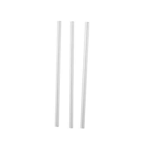 STRAW COCKTAIL PLASTIC CLEAR 135MM (CT5000)