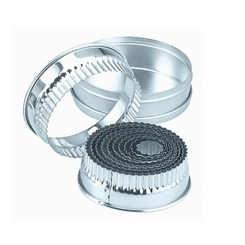 CUTTER SET TIN ROUND CRINKLE 14PC 25-115MM